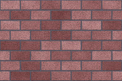 Seamless Red old brick wall background Stock Photo