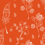 Seamless red pattern Royalty Free Stock Image