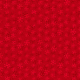 Seamless red pattern with snowflakes Royalty Free Stock Image