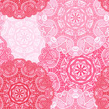 Seamless red pattern. Royalty Free Stock Photo