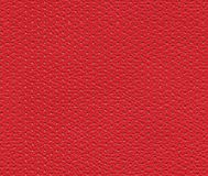Seamless red perforated leather texture Royalty Free Stock Photos
