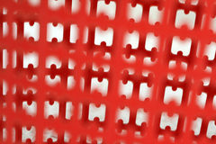 Seamless red plastic patterns Royalty Free Stock Photos