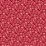 Seamless red retro pattern Royalty Free Stock Photo