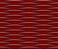 Seamless red silken pattern Stock Image