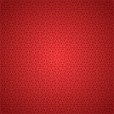 Seamless red snowflake background. Illustration Stock Photography
