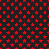 Seamless red star on black Royalty Free Stock Photography