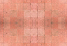 Seamless Red Tiles Background Stock Photography