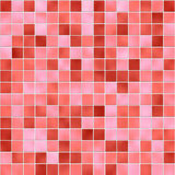 Seamless red tiles texture Royalty Free Stock Photo