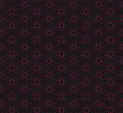 Seamless red vine line pattern background Stock Photos