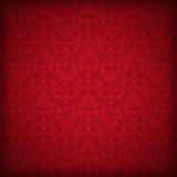 Seamless red wallpaper Royalty Free Stock Photos