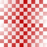 Seamless red-white checkered pattern Stock Image