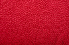 Seamless Red Wool Closeup Royalty Free Stock Images
