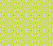 Seamless regular floral pattern lime green and lilac. Abstract geometric background, seamless floral pattern lime green and lilac, arabesque Royalty Free Stock Image
