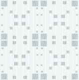Seamless regular squares pattern gray with wiggly lines white on light gray Stock Photos