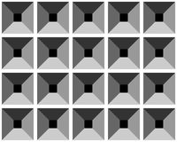 Seamless relief grey pattern. Stock Photos