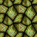 Seamless relief stone background with reptile pattern Stock Image