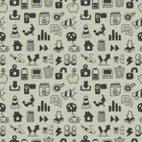 seamless rengöringsduk för symbolsmodell royaltyfri illustrationer