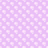 Seamless repeat pattern of white flowers Stock Photo