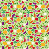 Seamless repeat vegetables Stock Photo