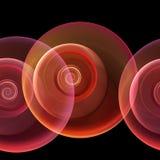 Seamless repeatable fractal stock illustration