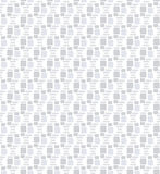 Seamless repeatable Square patterns greyscale vector Stock Photo