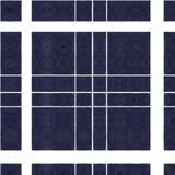 Seamless repeating block pattern in blue and white Royalty Free Stock Images