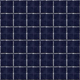 Seamless repeating block pattern in blues Royalty Free Stock Images