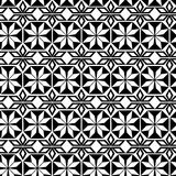 The seamless repeating geometrical pattern on the Arab subject Stock Images