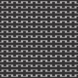 Black and white seamless geometrical pattern Royalty Free Stock Photography