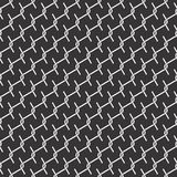 Black and white seamless wire checks geometrical pattern. A seamless, repeating geometrical vector wire checks pattern in black and white.. best for fabric print royalty free illustration