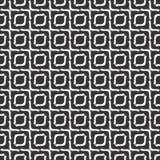 Black and white seamless zigzag geometrical pattern Royalty Free Stock Image