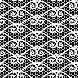 Seamless repeating lace pattern Royalty Free Stock Photos