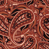 Seamless repeating pattern consisting of colored patterns buta Stock Photo