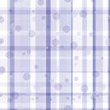 Seamless repeating pattern consisting of strips and circles Royalty Free Stock Images
