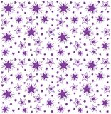 Seamless repeating pattern of stars Stock Images