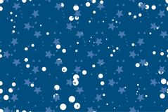 Seamless repeating pattern with stars Stock Photos