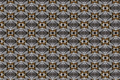 A seamless, repeating pattern of woven geometric shapes Royalty Free Stock Images