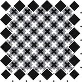 Seamless repeating textile, ink brush strokes pattern Stock Photo