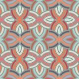 Seamless reto pattern Stock Images