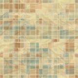 Seamless retro abstract geometric pattern Stock Photos
