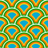 Seamless Retro Background 04 Royalty Free Stock Photography