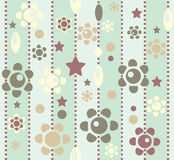 Seamless retro background Royalty Free Stock Images
