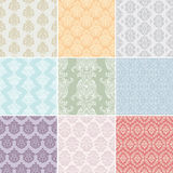 Seamless retro background Royalty Free Stock Photos
