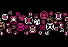 Seamless Retro Background Stock Image