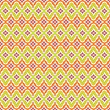 Seamless retro background in modern ikat pattern Royalty Free Stock Photography