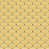 Seamless retro background in modern ikat pattern Stock Image