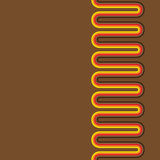 Seamless Retro background pattern Stock Photography