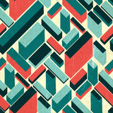 Seamless retro background, vector Royalty Free Stock Photography
