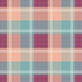 Seamless retro checkered pattern background Royalty Free Stock Photos