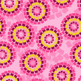 Seamless retro floral background Stock Photos